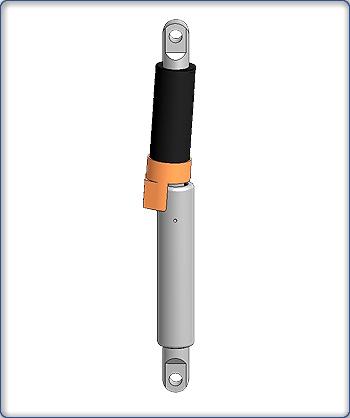 機構鎖定氣彈簧